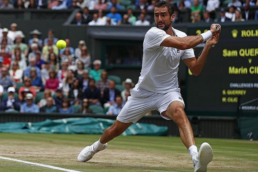 Regardless of who he meets in tomorrow's final, Marian Cilic says he is focused on playing his own game.