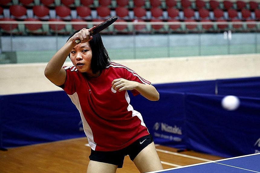 The Asean Schools Games are 18-year-old Lim Ye Xuen's first international-level event. She will partner Tay Hui Li in the girls' doubles.