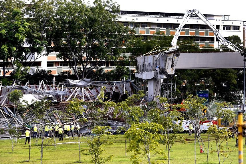 Yesterday's accident was the latest involving OKP Contractors, which was found guilty of a 2015 safety breach just three days before the structure collapsed.
