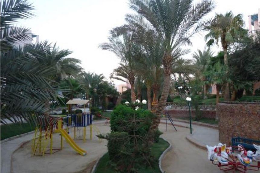 Zahabia Hotel and Beach Resort.