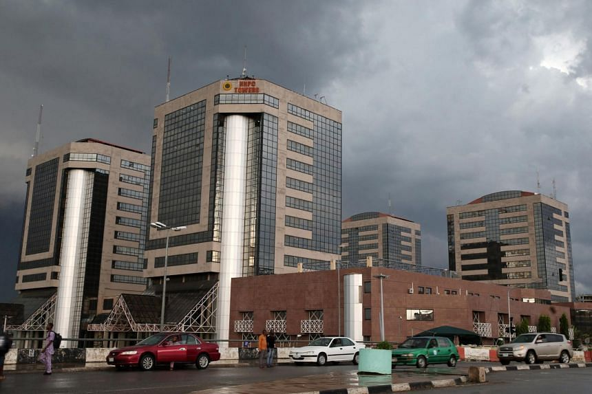 The head offices of the Nigerian National Petroleum Corp. in Abuja, Nigeria, on Oct 21, 2015.