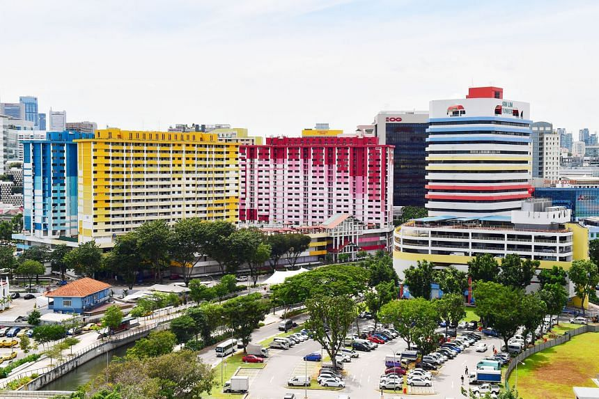 The vacant blocks of Rochor Centre are set to be demolished to make way for the North-South Expressway. Mindef said residents and other stakeholders in the immediate vicinity have been informed and advised to stay clear of the area.