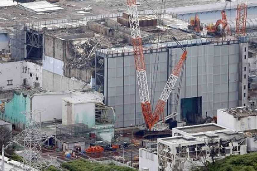 The No. 3 reactor building at Tepco's tsunami-crippled Fukushima Daiichi nuclear power plant in July 2013. The plant currently stores hundreds of tanks of contaminated water.