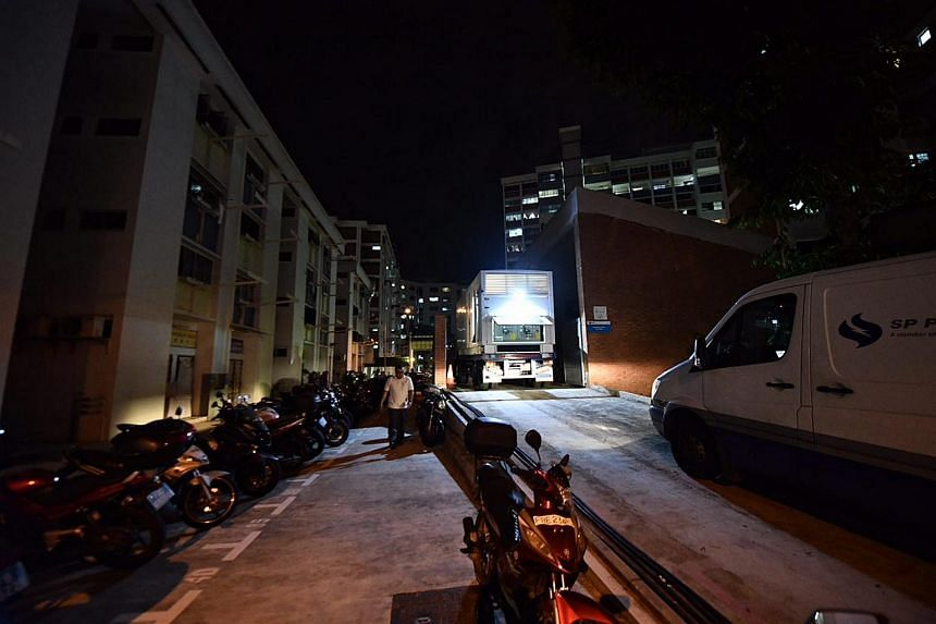 A power outage affected 200 households and shops in four blocks at Tampines Avenue 4 on Sunday night (July 16).