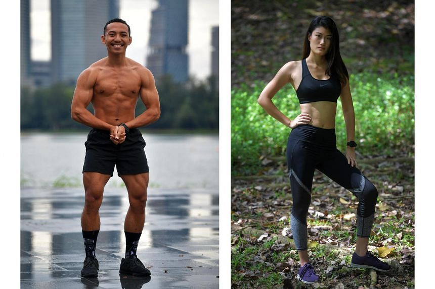 (Left) Hilmi Hayan. (Right) Eugenia Lim