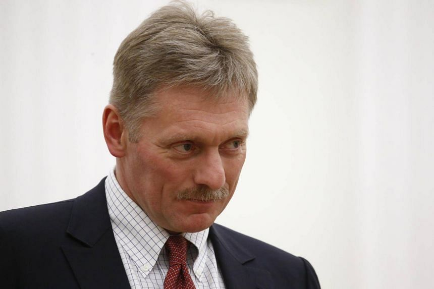 Kremlin spokesman Dmitry Peskov attends a meeting of Russian President Vladimir Putin with Ben van Beurden, CEO of Royal Dutch Shell, in Moscow, Russia, on June 21, 2017.