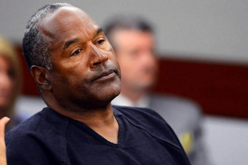 O.J. Simpson attends an evidentiary hearing in Clark County District Court in Las Vegas, Nevada, on May 17, 2013.