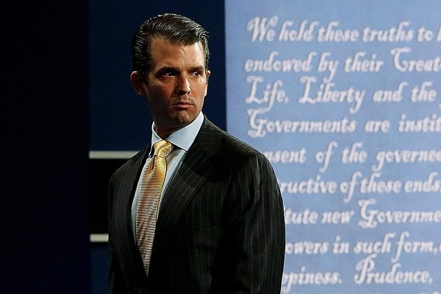 Mr Donald Trump Jr differs from his father in some respects. Where the father is close to the stereotype of the baseball-cap wearing, hamburger- and-fries-eating conservative American, the son is more like the modern suburban dad-next-door, not as pr