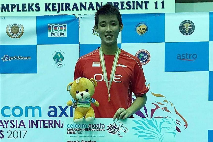 Singapore shuttler Loh Kean Yew emerged victorious in Putrajaya in the Malaysia International Series, beating 11th seed Cheam June Wei 21-19, 21-14 in the final yesterday.