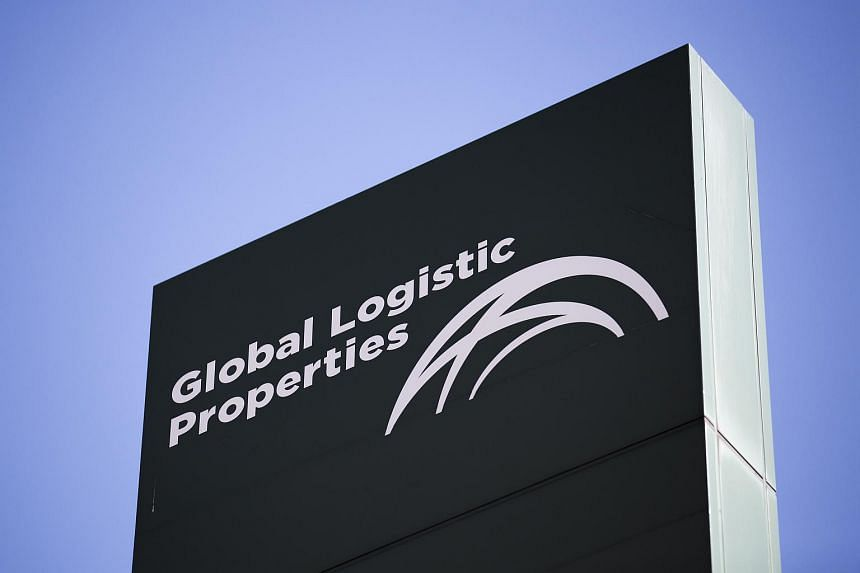Global Logistic Properties Ltd's signage outside one of the company's facilities in Tokyo, Japan on July 14, 2017.