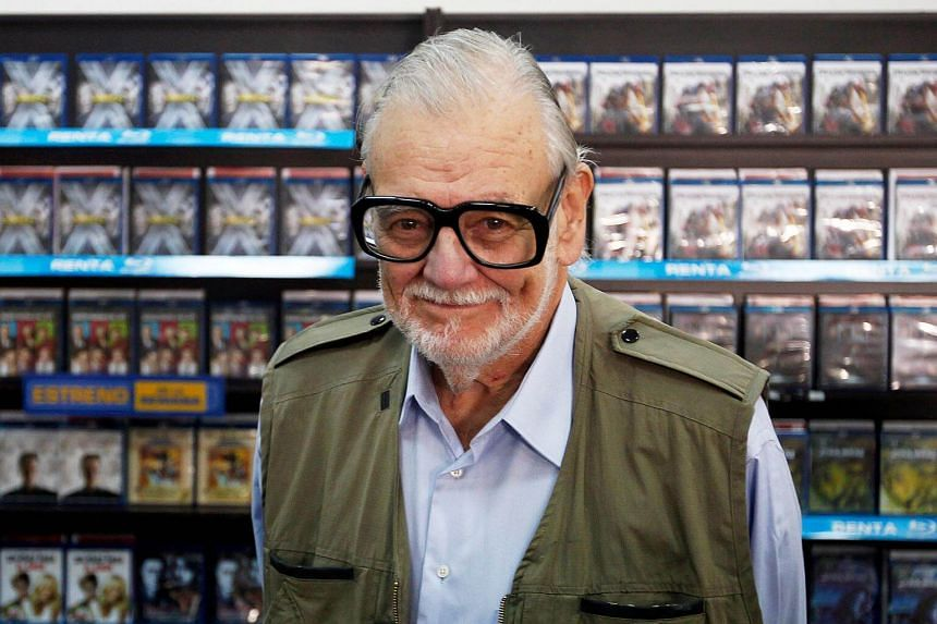 """George A. Romero died after a """"brief but aggressive battle with lung cancer""""."""