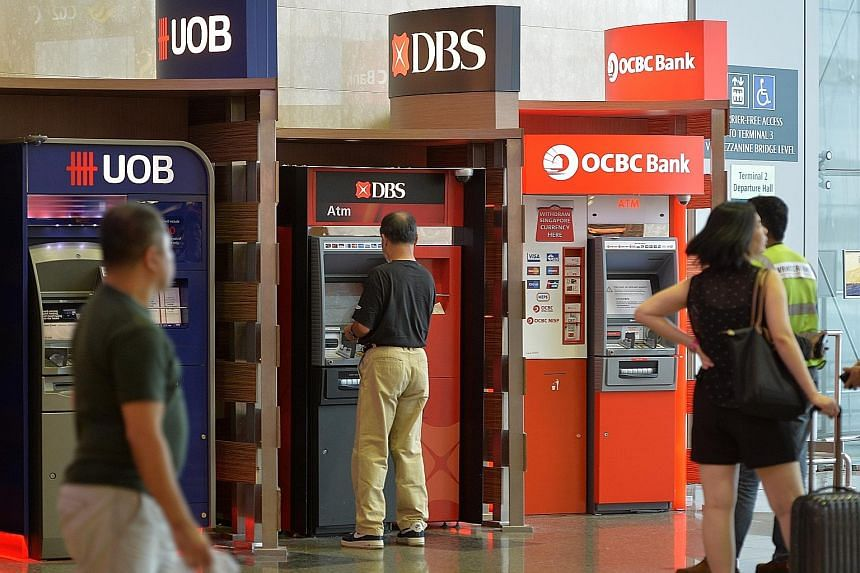 DBS, OCBC and UOB have to maintain a net stable funding ratio of 100 per cent by Jan 1 next year. The funding ratio - a key reform announced by the Basel Committee on Banking Supervision in January 2014 - measures a bank's long-term resources over 12