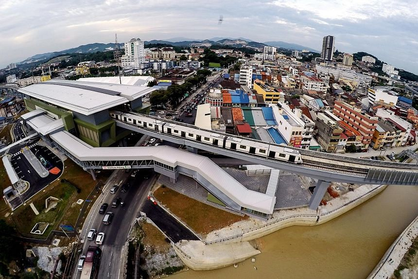 The completed 51km Sungai Buloh to Kajang network, called the SBK Line, covers many estates on the north-western and south-eastern periphery of Kuala Lumpur. With public complaints over traffic snarls and the high cost of highway tolls, the governmen