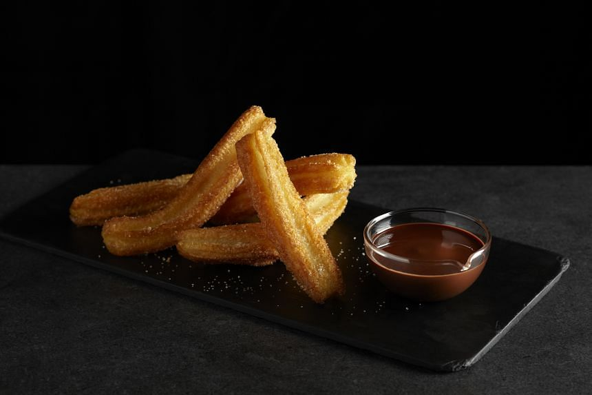 Churros from Tapas Place.