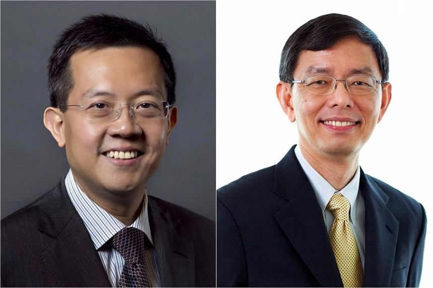 Mr Leo Yip (left) will take over from Mr Peter Ong on Sept 1.