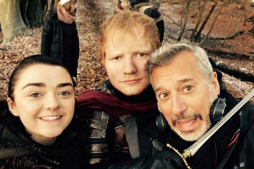 Ed Sheeran made a cameo appearance as a Lannister soldier during the season seven premiere of Game of Thrones.