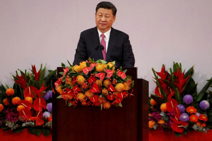 "Chinese President Xi Jinping called for ""expanding imports while stabilising exports"" during a  a Communist Party committee on financial and economic affairs."