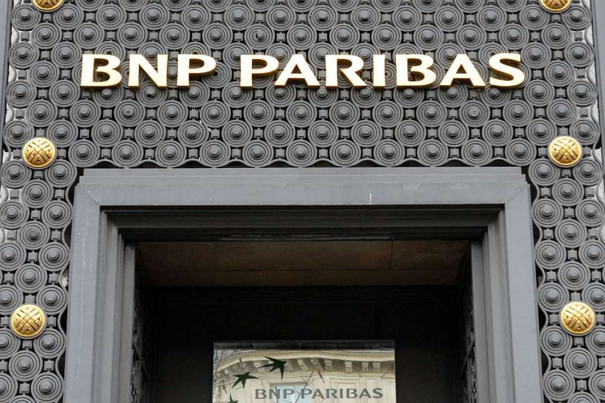 The facade of one of the buildings of France's top bank BNP Paribas on Jan 31, 2008 in Paris.