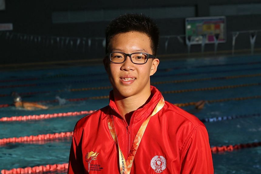 Singapore swimmer Mikkel Lee won two golds yesterday in the 50m butterfly and the 4x100m freestyle.