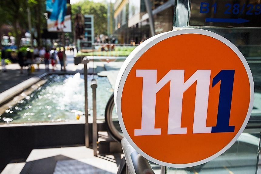 """M1 expects competition to heat up, with another player preparing to enter the """"highly penetrated"""" mobile market. Based on its present outlook, the telco expects a decline in full-year net profit."""
