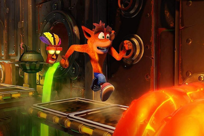 Speedy reflexes and well-timed key presses are necessary in Crash Bandicoot N Sane Trilogy. Practice and patience remain the mantra that veteran hardcore gamers live by.