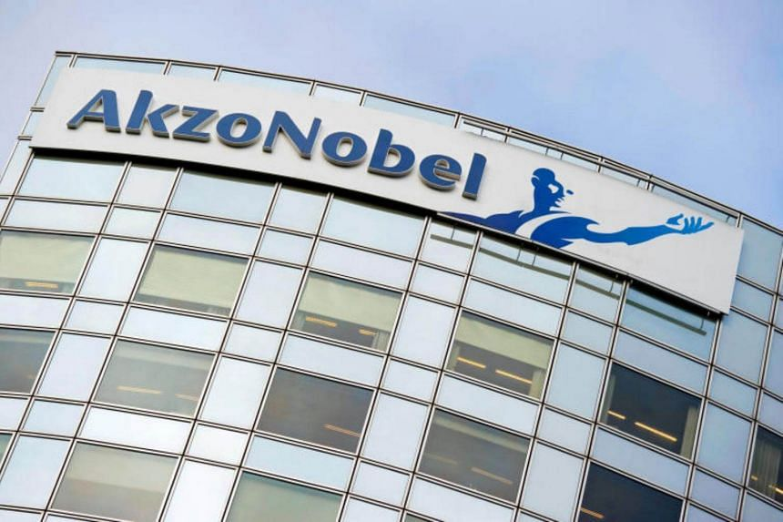 Mr Ton Buechner, CEO of  Akzo Nobel, has resigned for health reasons.