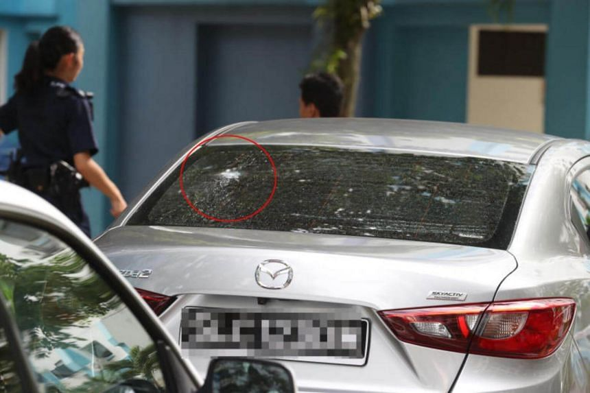 The man had allegedly shot pellets at a group of wedding revellers in Woodlands  on July 1.