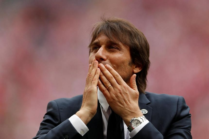 Chelsea manager Antonio Conte before the FA Cup Final match between Arsenal.