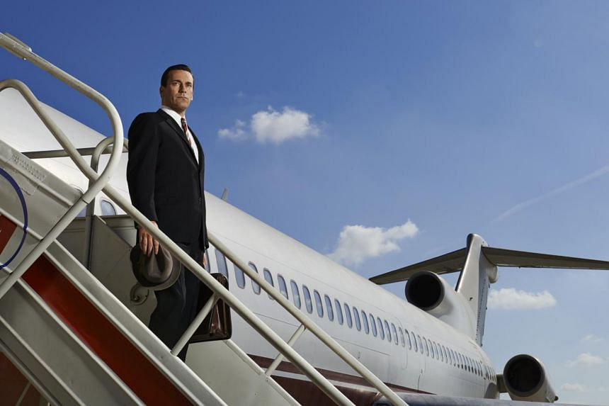 Television still from the television series Mad Men, starring Jon Hamm.