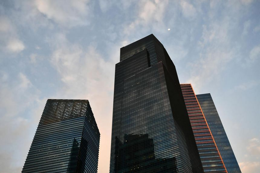 The Marina Bay Financial Centre is one of Keppel Reit's properties in Singapore.