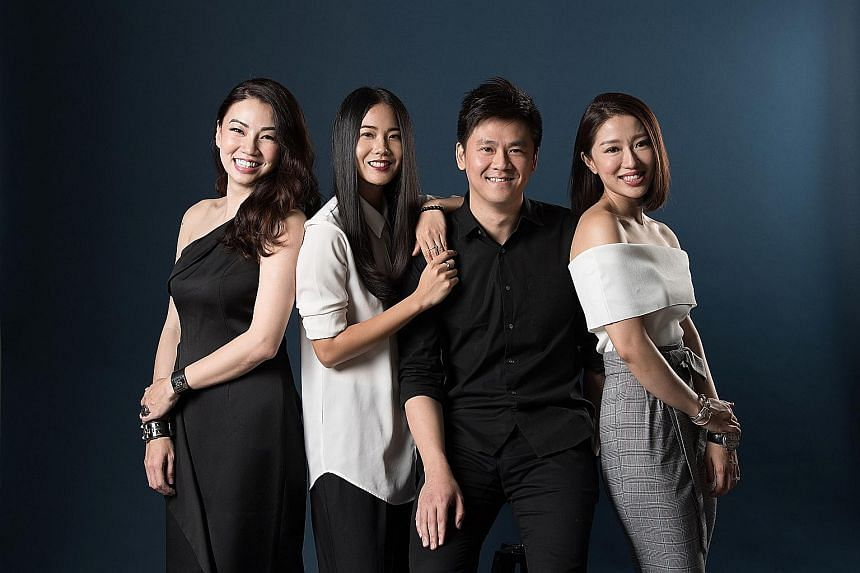 Leading the charge at Love, Bonito are (from left) co-founder Viola Tan, chief commercial officer Dione Song, head of product Eugene Liang and co-founder Rachel Lim.