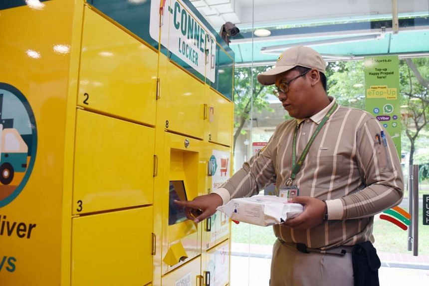 Some patients are now able to collect their medication from a convenience store locker near them, just by keying in a code delivered to their mobile phones. Each delivery costs $4 and is held at the locker for 48 hours before being returned to the po