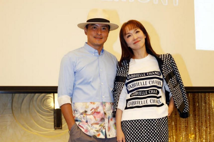 The Channel 8 drama series Doppelganger marks celebrity couple Fann Wong and Christopher Lee's first Mediacorp production in 14 years.