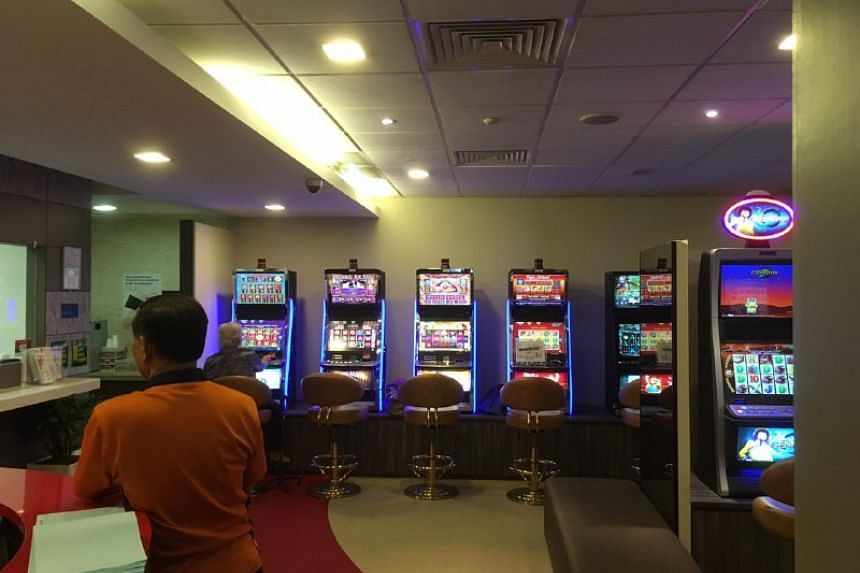 Jackpot machines at PA HQ.