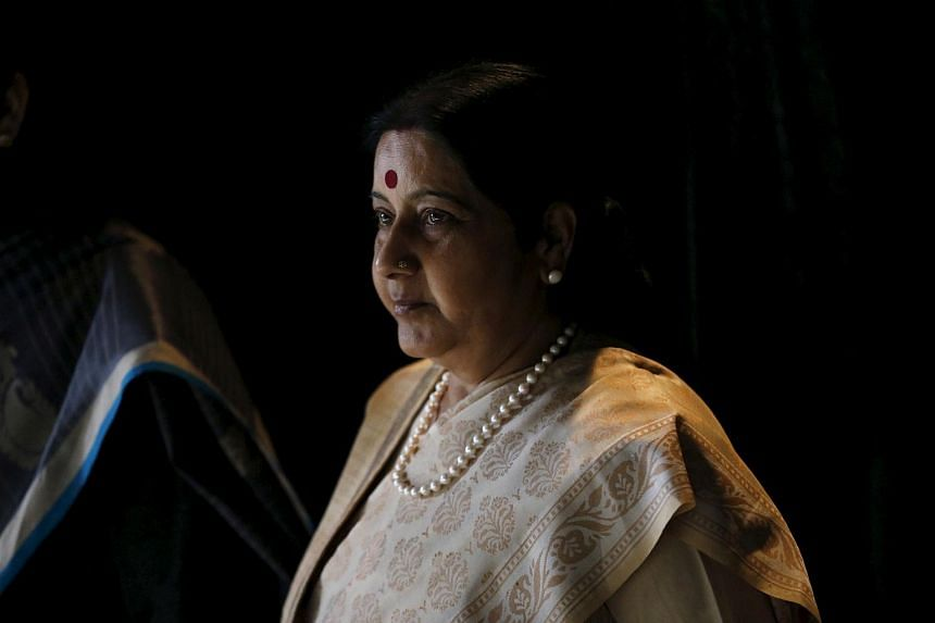 India's Foreign Minister Sushma Swaraj reaffirmed that India's security could be jeopardised if China takes over the zone where the frontiers of India, China and Bhutan meet.