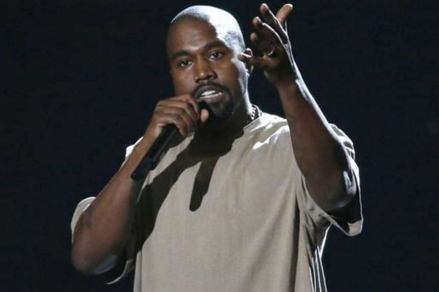 Kanye West accepts the Video Vanguard Award at the 2015 MTV Video Music Awards in Los Angeles.