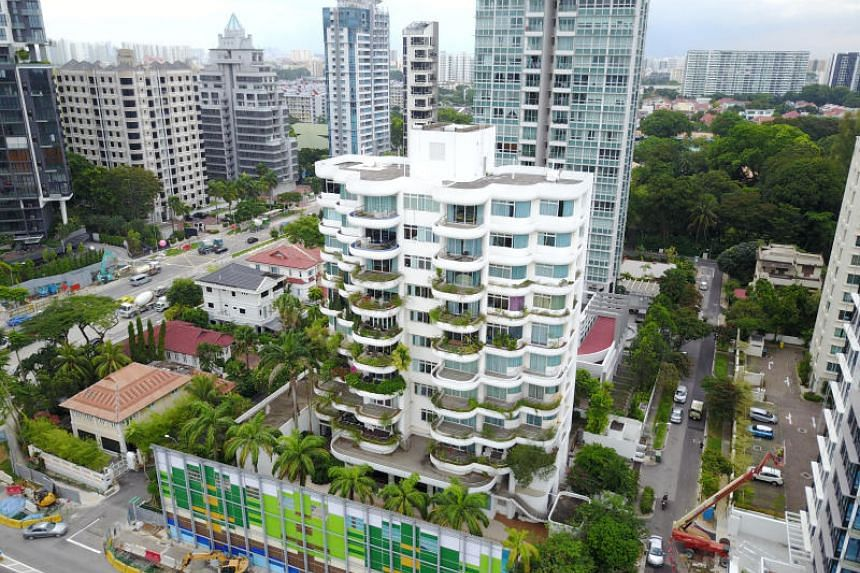 The Albracca condominium in Meyer Road has been collectively sold for $69.12 million to developer Sustained Land. PHOTO: JLL