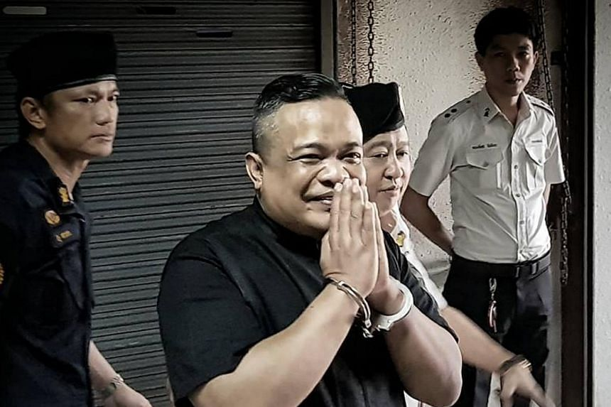 Jatuporn Prompan, leader of Thai opposition thanking his supporters in Bangkok.