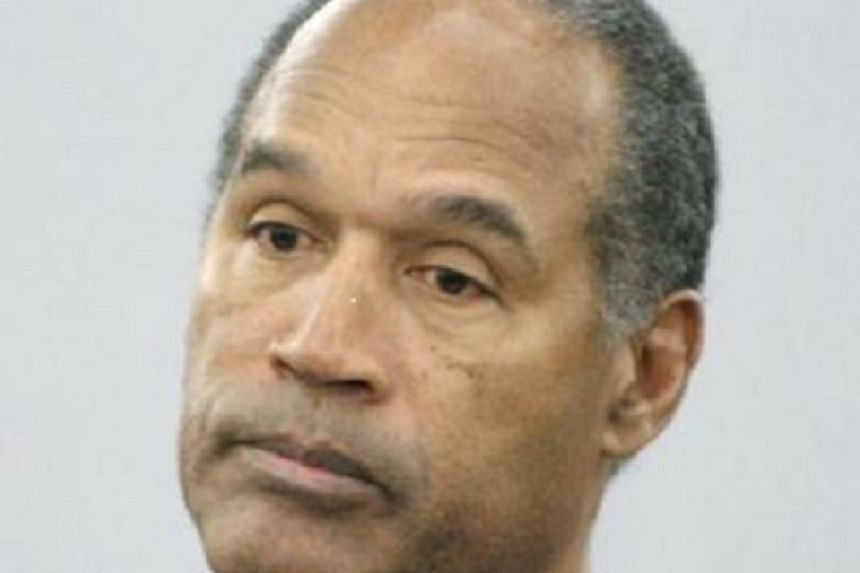 This is a Dec 5, 2008, file photo showing O.J. Simpson in court during his sentencing hearing at the Clark County Regional Justice Center in Las Vegas.