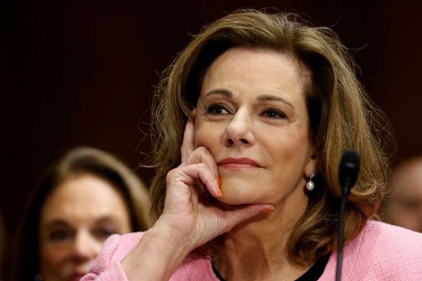 US President Donald Trump's nominee for ambassador to Singapore K.T. McFarland testifies at the Senate Foreign Relations Committee hearing on her nomination on Capitol Hill in Washington, US on July 20, 2017.