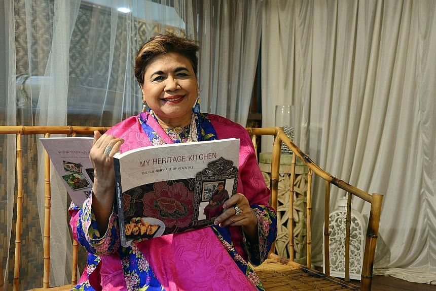 My Heritage Kitchen by Aziza Ali features 73 dishes from the various cultures that make up the author's heritage as well as showcases 20 of her food-related paintings and a poem by her.
