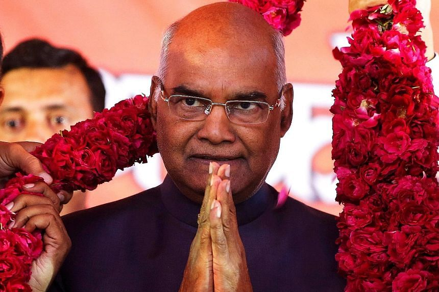 Mr Ram Nath Kovind, the ruling Bharatiya Janata Party's candidate, is only the second Indian president from the Dalit community, which continues to face discrimination and ostracism in many parts of the country.