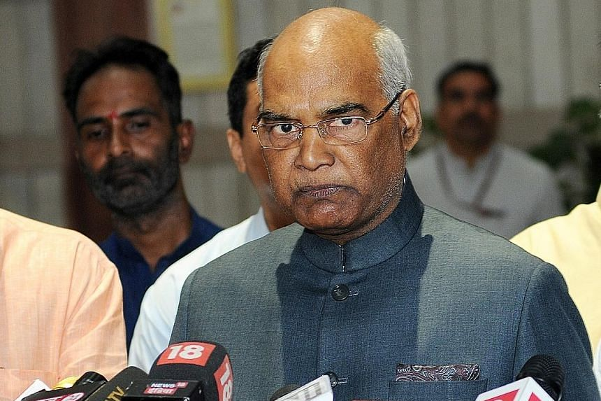 Lawyer turned politician Ram Nath Kovind is a member of India's Dalit caste, who has worked to lift the community.