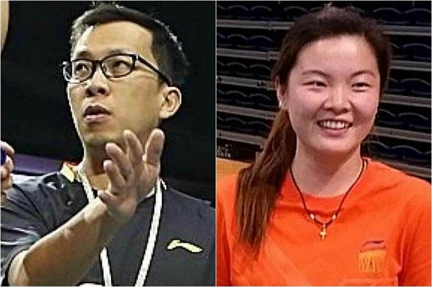 National chief coach Chua Yong Joo (left) tendered his resignation last week, while shutter-turned-coach Fu Mingtian indicated her desire to leave at the end of last month.