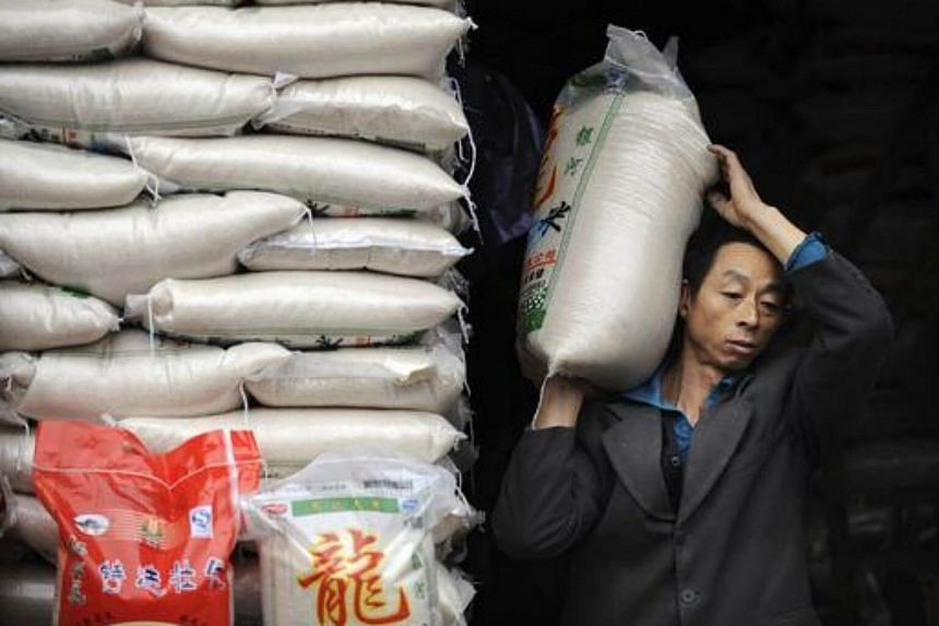 China has agreed to allow imports of US rice.