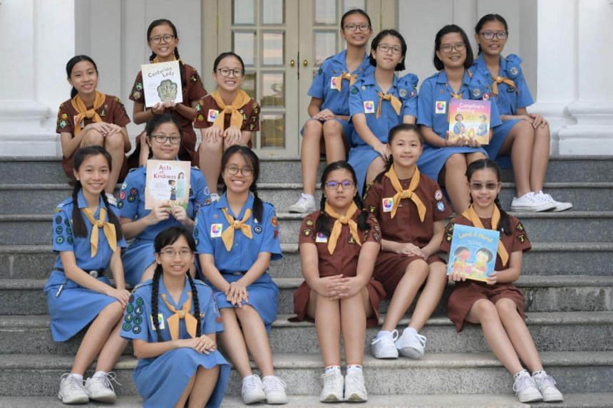 To celebrate 100 years, Girl Guides is publishing a set of four books about Guiding values and principles.