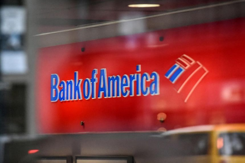 A Bank of America logo is seen in New York City, on Jan 10, 2017.
