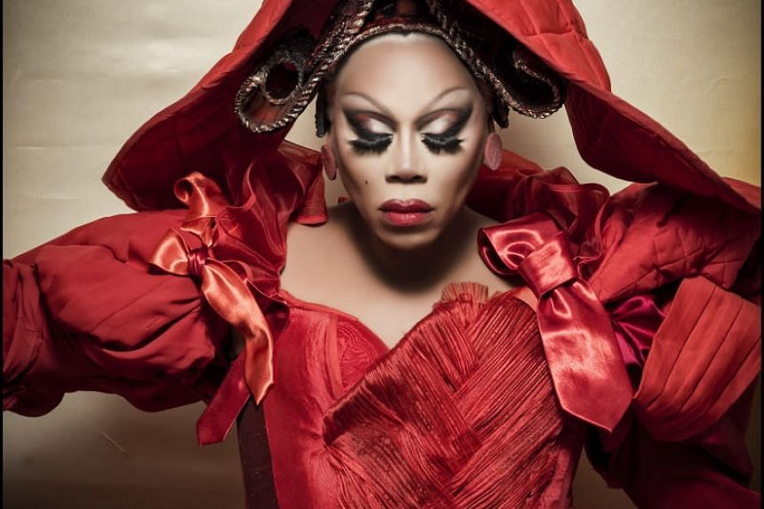 Drag queen and television personality RuPaul is part of the all-black celebrity cast of Pirelli's 2018 calendar.