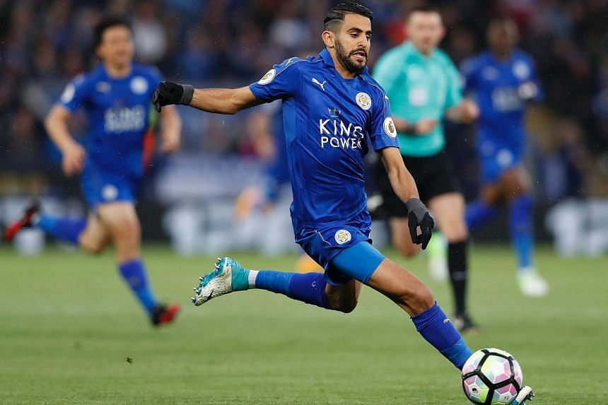 Riyad Mahrez had previously said he wanted to leave Leicester City at the end of last season.