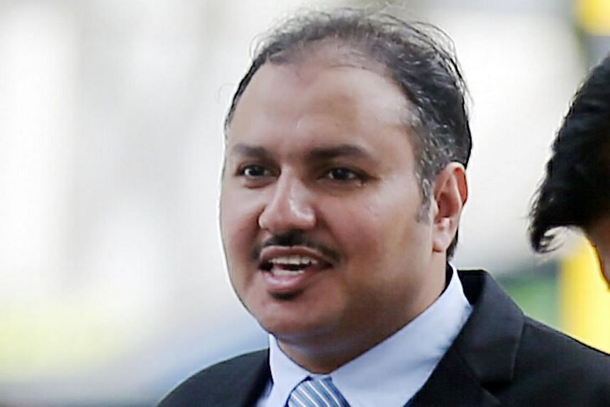 """Bander Yahya A. Alzahrani's (above) sentence was """"actually lenient"""", said Judge of Appeal Steven Chong."""